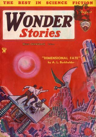 'Dimensional Fate' by Frank R Paul