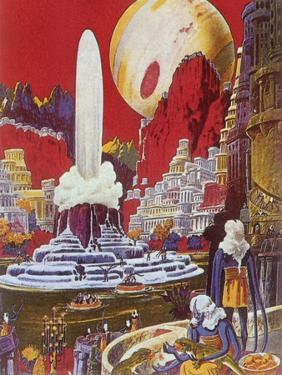 Futuristic City, 1941 by Frank R. Paul
