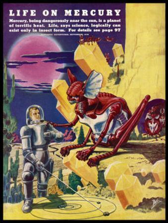 Inhabitants of Mercury by Frank R. Paul