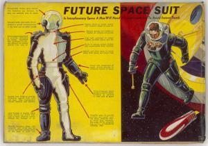Space Suit as Foreseen in 1939 by Frank R. Paul