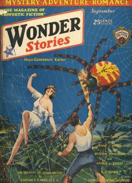 'Spider Island' by Frank R Paul