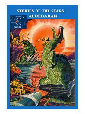 Stories of the Stars: Aldebaran by Frank R. Paul