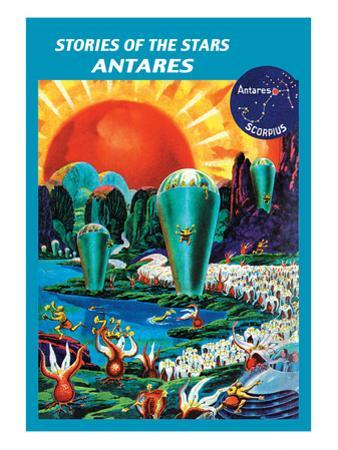 Stories of the Stars, Antares by Frank R. Paul