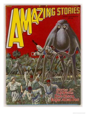 The Octopus Cycle (Lester and Pratt) Explorers in Africa are Attacked by Giant Land-Octopi by Frank R. Paul