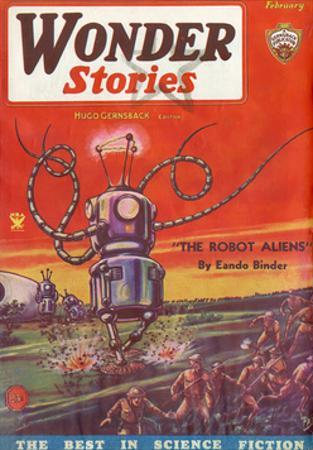 'The Robot Aliens' by Frank R Paul