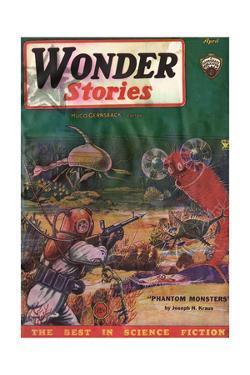 Underwater Monsters by Frank R Paul