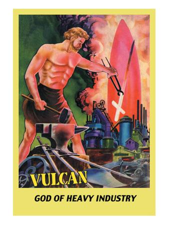 Vulcan by Frank R. Paul