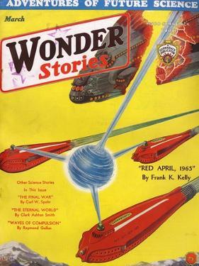 Wonder Stories, 3, 1932 by Frank R Paul