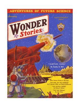 Wonder Stories, Guns by Frank R Paul