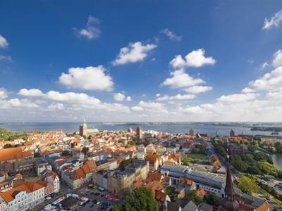 Aerial View of Stralsund