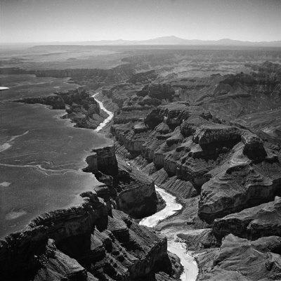 Colorado River Winding its Way Through Grand Canyon National Park