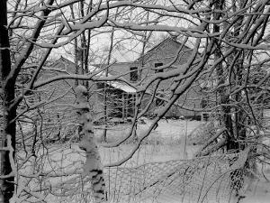 Home of Mass Murdering Psychopath Ed Gein by Frank Scherschel