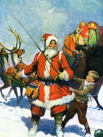 """Stay Santa, Stay!,""December 1, 1927"