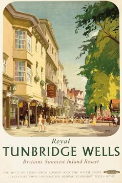 Royal Tunbridge Wells, Poster Advertising British Railways by Frank Sherwin