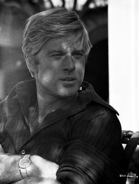 Robert Redford in Sweat Shirt by Frank Shugrue