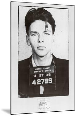 Frank Sinatra-Mugshot