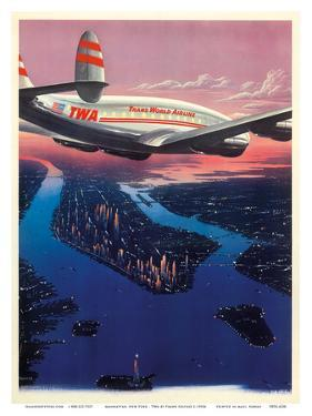 Manhattan, New York USA - TWA (Trans World Airlines) by Frank Soltesz