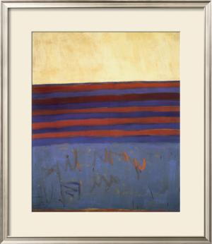 Your Lips Are Blue, c.1958 by Frank Stella