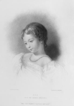 Portrait of Augusta Ada Byron