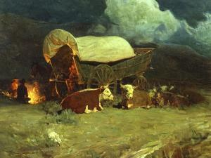 Pioneers by Frank Tenney Johnson