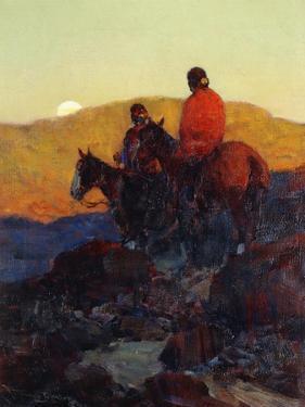 Sunset Glow by Frank Tenney Johnson