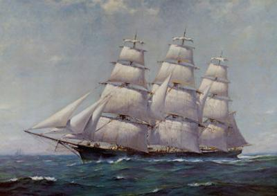 McKay Racer, Sovereign of the Seas by Frank Vining Smith