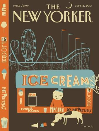 13 Flavors - The New Yorker Cover, September 2, 2013