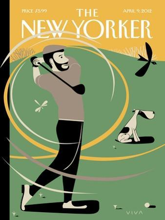 A Whiff of Cool Air - The New Yorker Cover, April 9, 2012