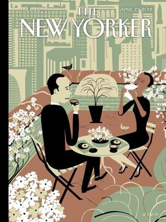 The Joys of the Outdoors - The New Yorker Cover, April 23, 2012