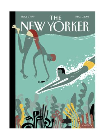 The New Yorker Cover - August 1, 2016