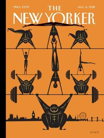 The New Yorker Cover - August 6, 2012