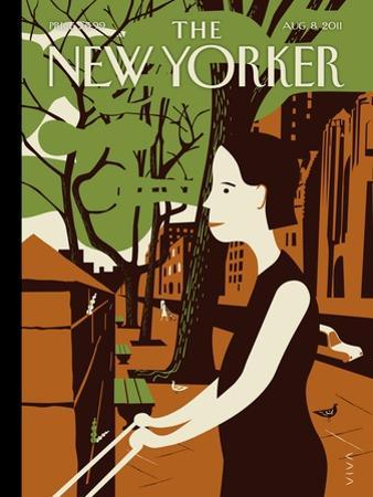 The New Yorker Cover - August 8, 2011