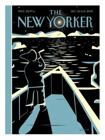 The New Yorker Cover - December 24, 2012