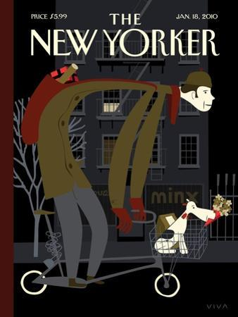 The New Yorker Cover - January 18, 2010