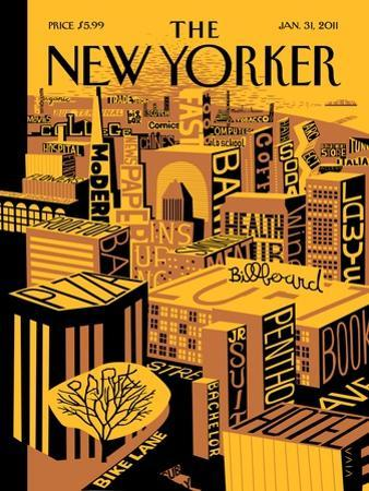The New Yorker Cover - January 31, 2011