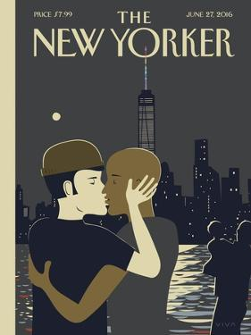 The New Yorker Cover - June 27, 2016 by Frank Viva