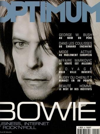 L'Optimum, October 1999 - David Bowie by Frank W. Ockenfels