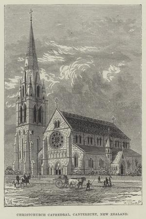 Christchurch Cathedral, Canterbury, New Zealand