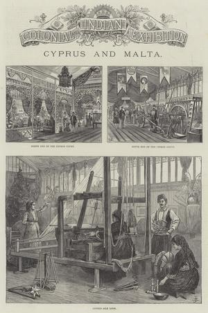 Colonial and Indian Exhibition, Cyprus and Malta