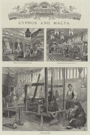 Colonial and Indian Exhibition, Cyprus and Malta by Frank Watkins