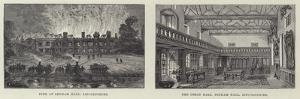 Irnham Hall in Lincolnshire by Frank Watkins