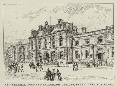 New General Post and Telegraph Offices, Perth, West Australia