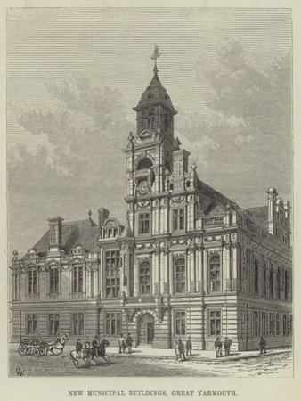 New Municipal Buildings, Great Yarmouth by Frank Watkins