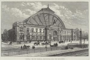 Olympia, the New National Agricultural Hall, West Kensington by Frank Watkins