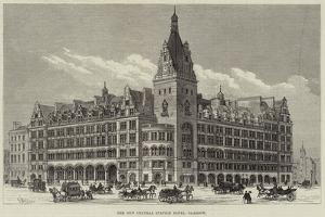 The New Central Station Hotel, Glasgow by Frank Watkins