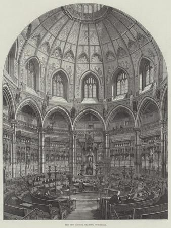 The New Council Chamber, Guildhall by Frank Watkins