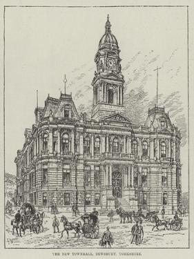 The New Townhall, Dewsbury, Yorkshire by Frank Watkins