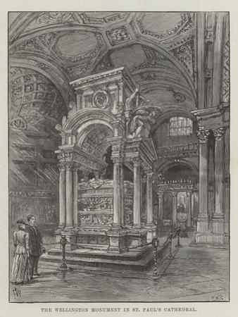 The Wellington Monument in St Paul's Cathedral by Frank Watkins