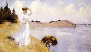 Eleanor on the Hilltop, 1912 by Frank Weston Benson