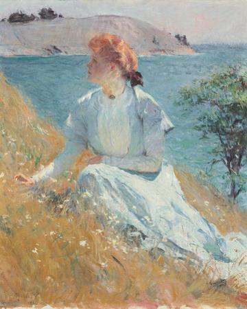 Margaret Gretchen Strong, c.1909 by Frank Weston Benson